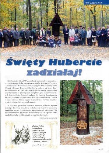 """Kolo lowieckie """"SZARAK"""" gospodaruje na terenach w ... - jagdkultur.eu"""
