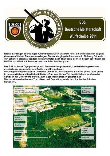 DM 2011 Suhl - Jagd & Sportschützen Marl eV