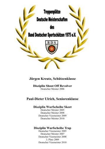 Hall of Fame DM.pages - Jagd und Sportschuetzen Marl eV