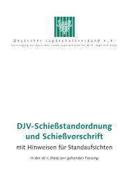 DJV-Schießstandordnung - Jagd und Sportschuetzen Marl eV