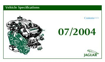 Jaguar AJ-V8 Specifications 1997 to 2004
