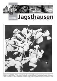 Mitteilungsblatt vom 13.02.2013 - in der Gemeinde Jagsthausen