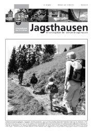 Informationen Nachrichten - in der Gemeinde Jagsthausen