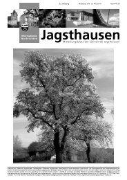 Umbruch JA.indd - in der Gemeinde Jagsthausen