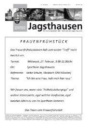 Nr. 2013/8 - in der Gemeinde Jagsthausen