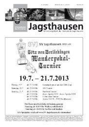 in der Gemeinde Jagsthausen