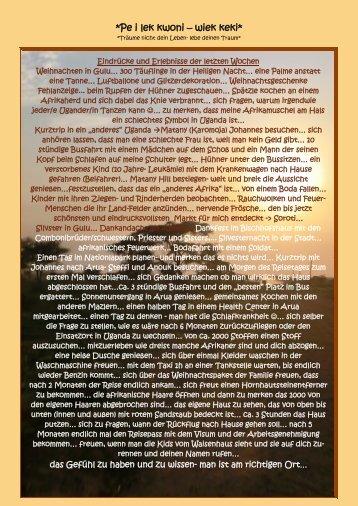 4. Bericht, Januar 2012 - Jagstzell