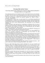 Jahn Report Jahn Report Friedrich Ludwig Jahn Gesellschaft