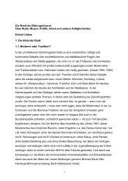 1 Die Stadt als Bildungs(t)raum Über Muße ... - Jahr der Künste