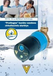 Jums reikia kar?to vandens? - Deutsche Vortex Gmbh & Co. KG
