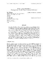 Journal of Artificial Intelligence Research 14 - School of Computer ...