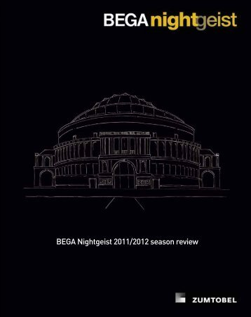 BEGA Nightgeist 2011/2012 season review