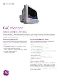 B40 Monitor - Physician's Resource