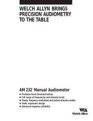 AM232 Manual Audiometer Product Brochure - Medical Equipment ...