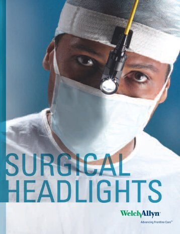 CL100 SFI Surgical Headlight System Product Brochure - Medical ...