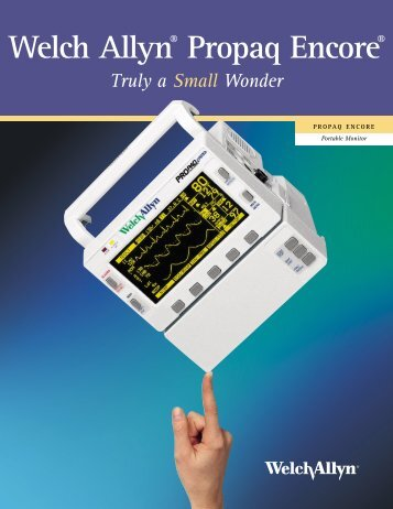 Welch Allyn® Propaq Encore® - Jaken Medical...