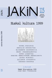 Euskal kultura 1999 - Jakin