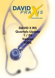 DAVID X RIS Quartals-Update 1 / 09 Version 9006 - Data Vital