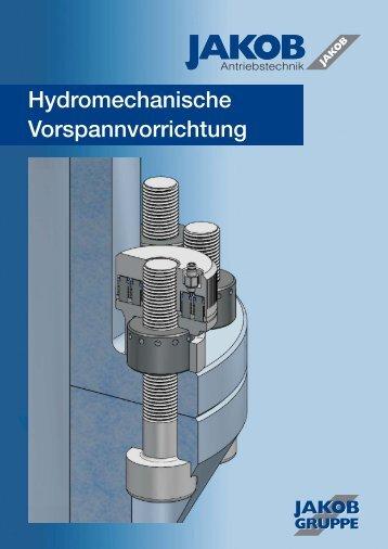 Hydromechanische Vorspannvorrichtung - JAKOB Antriebstechnik