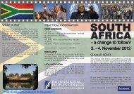 South Africa Seminar Net Brochure - Stolten's African Studies ...