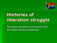Histories of resistance (pp-presentation in pdf-format