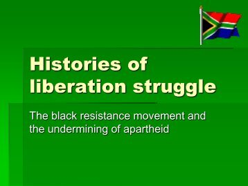 Histories of resistance (pp-presentation in pdf-format