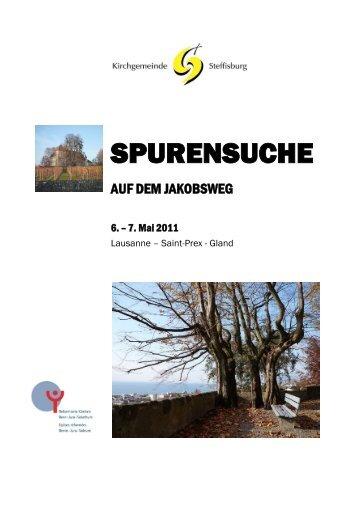 PDF-Download - Jakobsweg Schweiz