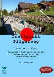 Treffpunkt Pilgerweg - Jakobsweg Schweiz