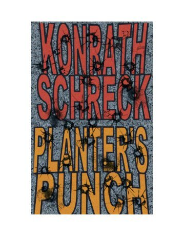Planter's Punch - J.A. Konrath