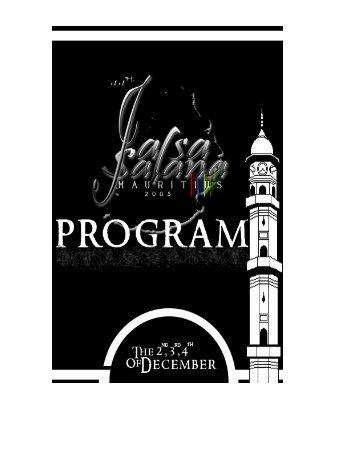 Information Package - Jalsa Salana