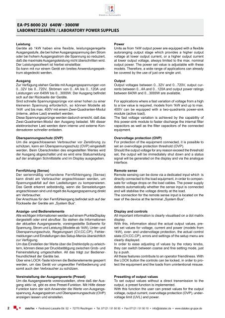 (PDF) 498 KB - datatec Gmbh