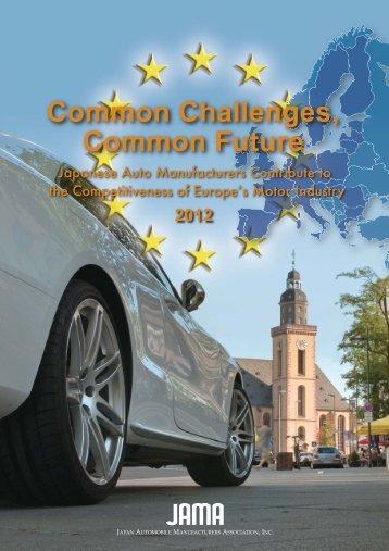 Common Challenges, Common Future - Japan Automobile ...