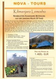 Kilimanjaro Besteigung - Jambo Kenya