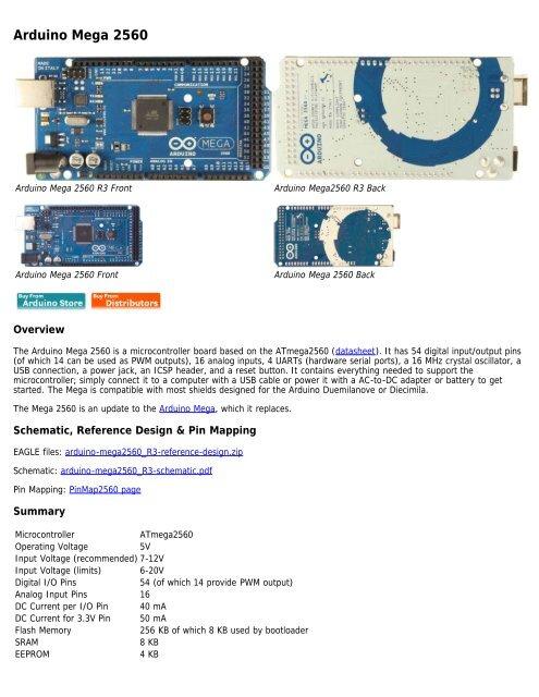 Arduino Mega 2560 on