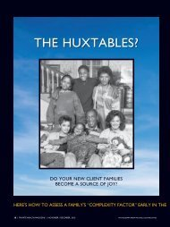 THE HUXTABLES? - James Grubman, Ph.D.