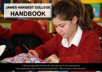 download Handbook PDF - James Hargest College
