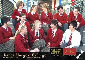 International Prospectus - James Hargest College