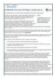 Treatment of myasthenia gravis with physostigmine. :: Articles