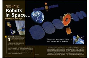 Repair Bots in Orbit - James Oberg