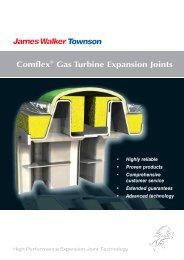 Comflex Gas Turbine expansion joints - James Walker