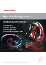 Hydraulic Sealing Products - James Walker