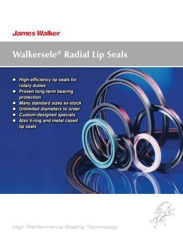 Walkersele® Radial Lip Seals - James Walker