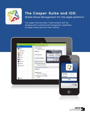 The Casper Suite and iOS - JAMF Software