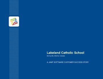 Lakeland Catholic School - JAMF Software