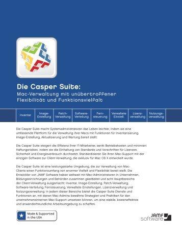 Die Casper Suite: - JAMF Software
