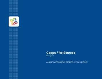 Capps / Re:Sources Case Study - JAMF Software