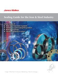 Sealing Guide for the Iron & Steel Industry - James Walker