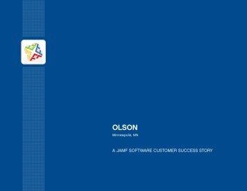 OLSON Case Study - JAMF Software