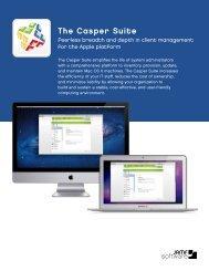 Casper Suite Overview - JAMF Software