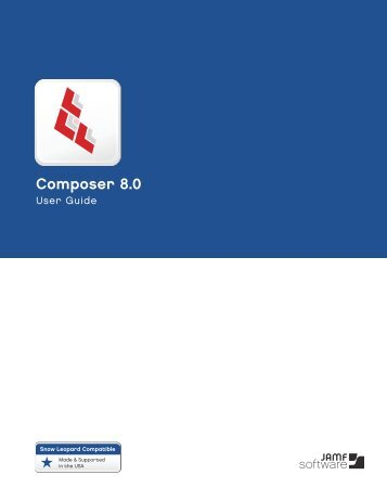 Composer User Guide 8.0 - JAMF Software